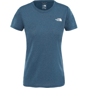 The North Face Reaxion Ampere Crew Shirt Women blue wing teal heather